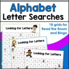 """Looking for Letters"" Alphabet Activity"