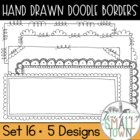 Loop-de-do Rectangular Doodle Frames