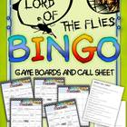 Lord of the Flies Bingo: Instructions, Game Boards, and Ca