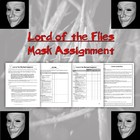 Lord of the Flies Mask Assignment