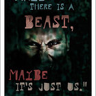 Lord of the Flies Poster: &quot;Maybe there is a beast&quot;  11x17