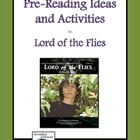 Lord of the Flies Pre-Reading Activity Pack