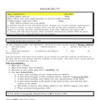 Lord of the Flies Unit student handout