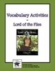 Lord of the Flies Vocabulary Activities, Crosswords, and Quizzes