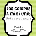Los Colores- Spanish Colors Mini Unit