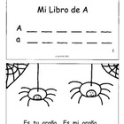 """Los Libritos"" Spanish Phonics Books and Letter Worksheets"