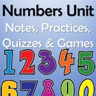 Los Numeros Spanish Numbers Unit - Notes, Practices, Quizz