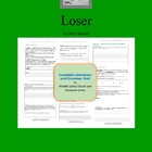 Loser by Jerry Spinelli Complete Literature and Grammar Unit