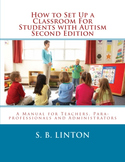 Lot of 25 How to Set Up a Classroom for Students with Auti