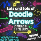 Lots and Lots of Doodle Arrows