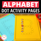 Lots of Dots: Alphabet Tracing Sheets