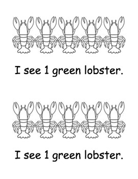 Lots of Lobsters Easy Reader