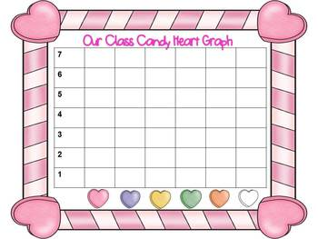 Lots of Love CandyHeart Graph