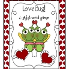 Love Bug Valentine&#039;s Day Sight Word Game