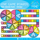 Love Game Boards - Graphics for Teachers and Teaching