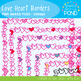 Love Hearts Borders - Graphics From the Pond