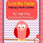 Love Me Tender: February Math Centers