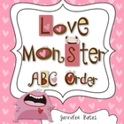 Love Monster ABC Order