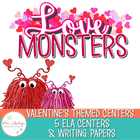 Love Monsters--Litersacy Center Common Core Aligned