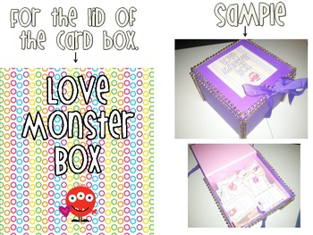 Love Monsters Positive Reinforcement Cards
