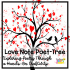 Love Note Poet-Tree for Valentine&#039;s Day