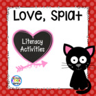 Love, Splat mini unit with literacy and math activities