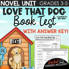 Love That Dog Book Test