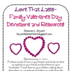 Love That Lasts (Family Valentine&#039;s Day Devotions)