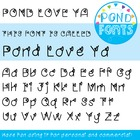 'Love Ya' Font - for Personal and Commercial Use
