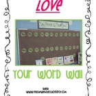 Love Your Word Wall