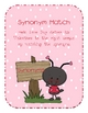 LoveBug Synonyms and Antonyms Pack