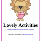 Lovely Activities
