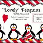 &quot;Lovely&quot; Penguins Clip Art  for Valentine&#039;s Day ~CU OK!
