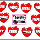 Lovely Rhythms Music Bulletin Board Kit-Valentine's Day Display