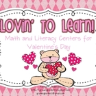 Lovin&#039; to Learn! Math and Literacy Activities for Valentine&#039;s Day
