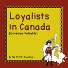 Loyalists in Canada Envelope Foldable