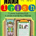 Luck of the Irish {7 Literacy Activities & Writing Activit