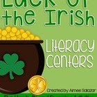 Luck of the Irish Literacy Centers {Common Core Aligned}