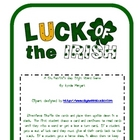 Luck of the Irish! St. Patrick's Day Sight Word Game