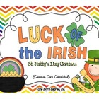Luck of the Irish: St. Patty&#039;s Day Centers for the Common Core!