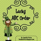 Lucky ABC Order Freebie