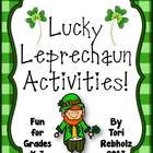 Lucky Leprechaun Activities! {St. Patrick&#039;s Day Fun!}