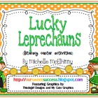 Lucky Leprechaun {Literacy Center Activities}