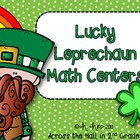 Lucky Leprechaun {March Math Centers}