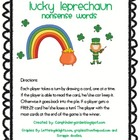 Lucky Leprechaun Nonsense Word Game