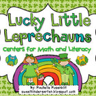 Lucky Little Leprechauns! St. Patrick's Day Centers for Ma