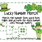 Lucky Number Match: St. Patrick's Day