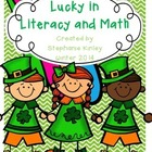 Lucky in Literacy and Math - 45 Print and Go Sheets