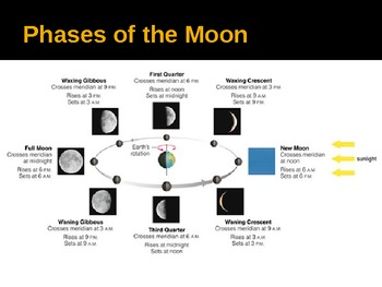 Lunar Phases, Tides, and Eclipses.