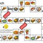 Lunch Board Game in French
